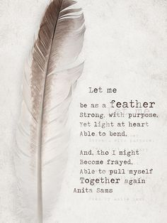 quote about feathers in hair - Google Search