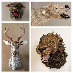 Hey, I found this really awesome Etsy listing at https://www.etsy.com/listing/177206530/custom-upholstered-faux-taxidermy-animal