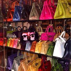 Hermes Birkin, Hermes Bags, Luxury Purses, Luxury Bags, Handbags Michael Kors, Purses And Handbags, Bag Closet, Looks Chic, Cute Bags