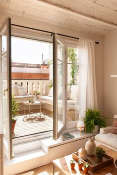 Small Space Living, Small Spaces, Backyard Pergola, Architecture, Decoration, Terrazzo, Ideas Para, Sweet Home, New Homes