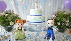 Decoração da festa infantil com tema Frozen: ideias e fotos