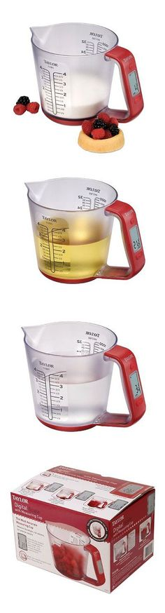 Kitchen Scales 50419: Taylor Precision Products Digital Measuring Cup And Scale -> BUY IT NOW ONLY: $32.4 on eBay!