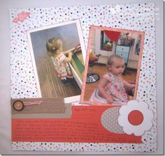 A Sweet Spring Scrapbooking Layout & Some Cards | Northwest Stamper