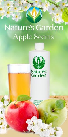 Fabulous Apple Scents from the world renowned Natures Garden Fragrance Oils.  #applescents