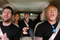 Metallica Sing Rihanna, Blake Shelton Sings Bon Jovi in 'Carpool ... - Ultimate Classic Rock