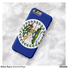 Belize, flag barely there iPhone 6 case