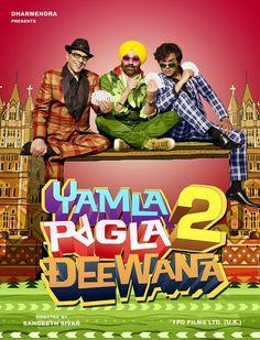 WORLD OF ENTERTAINMENT: Yamla Pagla Deewana 2 (2013) DVD Scr - Watch Online / Download