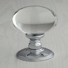 Buy John Lewis Oval Glass Mortice Knob, Dia.43mm Online at johnlewis.com
