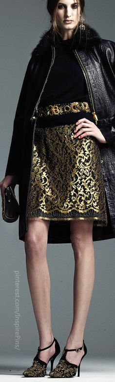 Pre-Fall 2014 Alberta Ferretti - beautiful coat