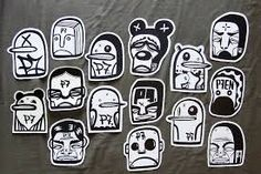 street art stickers - Google Search                                                                                                                                                                                 More