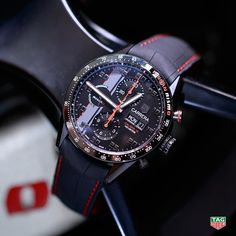 Baselworld 2015 New watches - TAG Heuer Novelties Fine Watches, Cool Watches, Stylish Watches, Men's Accessories, Tag Heuer Carrera Calibre, Estilo Fashion, Luxury Watches For Men, Beautiful Watches, Watch Brands