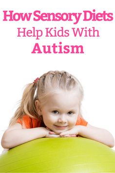 These sensory diet activities help kids with autism and sensory processing disorder calm down, focus, and decrease problematic sensory seeking behaviors. Ideal for home as well as the classroom, parents, and teachers can use these fun proprioceptive, vestibular, tactile, auditory, and olfactory occupational therapy tools and products to help children and students meet their needs! #autism #ASD #SPD #SpecialNeedsParenting