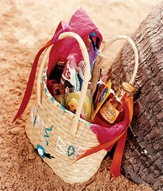 Guests received locally crafted welcome totes overflowing with Jamaican snacks and libations.