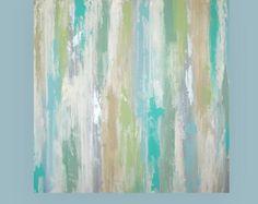 Art Acrylic Abstract Painting Original Canvas by OraBirenbaumArt
