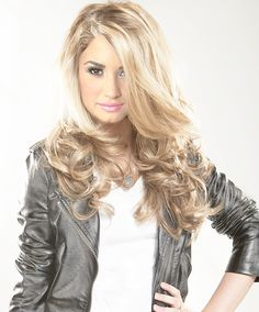Demi Lovato as a blonde!! by demilovatoworldteam, via Flickr