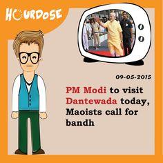 PM Modi to visit Dantewada today