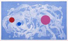Vicente Rojo, 'Suite nubes de fuego I', 2009. Grabado al azúcar y serigrafía. México