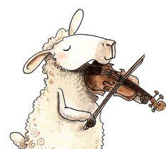 Fiddlin' Sheep