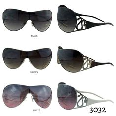 BUY 1 GET 1 Shield Sunglasses 3 Color #3032 New sunglasses by Lil+Lo: choose from Black lens with black frames, brown lens with brown frames or pink lens with white frames. Arrives  perfectly in signature Lil+Lo packaging. Several more new styles available. Our goal is to give you FUN affordable fashion. Do we discount? YES - create a bundle and you automatically get a discount!  Lil+Lo Accessories Sunglasses