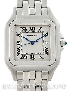 Cartier Panthere Jumbo Stainless Steel Watch W25032P5