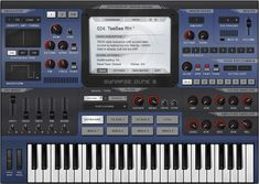 DUNE 2 V2.5 FREE DOWNLOAD ♦Synapse Audio Software | VST Synthesizers | DUNE 2