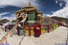 Serdah in the Sichuan part of the Tibetan Plateau