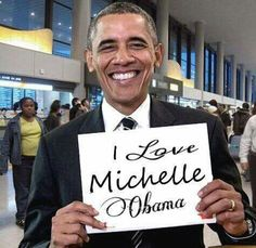 I love Michelle Obama too!