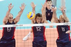 U.S. Mens Volleyball team LOOK AT ALL THOSE BLOCKS!