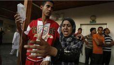 Mais uma escola da ONU foi bombardeada em Gaza - 19 morreram ~ Jornalismo alternativo