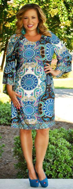 Perfectly Priscilla Boutique - Amazing Grace Dress, $44.00 (http://www.perfectlypriscilla.com/amazing-grace-dress/)