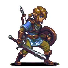 The Legend of Zelda breath of the wild Sprite