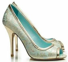 love mint and gold