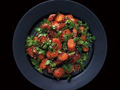Rostad morot med sesam, koriander, chili och lime | Recept från Köket.se