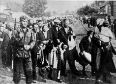 Rzeszow, Poland, probably 1942, Deportation of Jews.