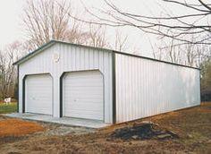 24' x 36' x 10' Garage