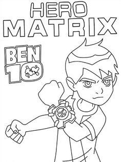 coloring page Ben 10 - Ben 10