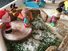 Winter Wonderland Santas Grotto tuff tray small world Christmas Grotto Ideas, Christmas Time, Christmas Crafts, Tuff Spot, Tuff Tray, Crafts For Kids, Arts And Crafts, Winter Wonderland Christmas, Small World Play