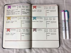 studentbudget: My first bullet journal spread :relaxed: Bullet Journal Kawaii, Bullet Journal Book, Basics Of Bullet Journaling, Bullet Journal Tracker, Bullet Journal Spread, Bullet Journal Layout, Bullet Journal Inspiration, Journal Pages, Bullet Journals