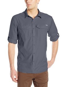 Columbia Men's Silver Ridge Lite Long Sleeve Shirt *** A special outdoor item just for you. See it now! : Camping clothes