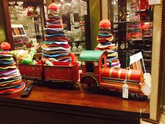 It's such a colorful place here in #Wonderland! We love these felt #ChristmasTrees.