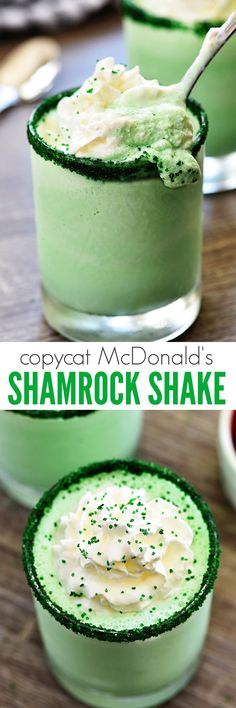 I love a good milkshake. It's one of life's best pleasures, in my expert opinion.  ha. Seriously, though. I am in love with McDonald's Shamrock Shakes! They are the bomb dot com. Mint is one of my favorite flavors of ice cream too, so this shake sings to me whenever it's available there! The... Read More »