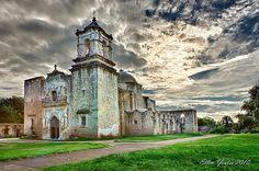 Mission San Jose, San Antonio, Texas - opened February 23, 1720