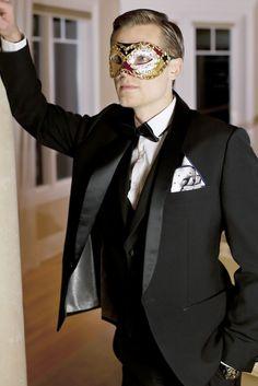 #weddingmask #carnaval #groom #original novio de carnaval