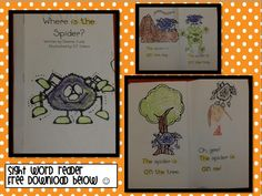 Spider Fun! Throwback post with FREEBIES! Click HERE to download the spider book.