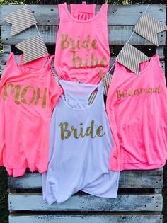 Bridal Party Maid of Honor Bride Tribe by TexasSweetTees on Etsy @sed012