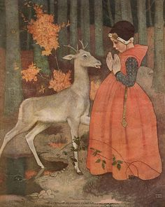 Marianne Stokes (Austrian, 1855-1927) - Title?  (Ladies' Home Journal Cover, 1907) by sofi01, via Flickr