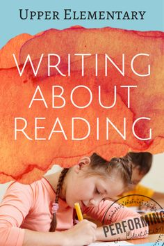 Writing About Reading: 5 great ideas to incorporate more writing into reading block Reading Lessons, Writing Lessons, Teaching Writing, Reading Strategies, Reading Activities, Reading Skills, Reading Comprehension, Teaching Ideas, Writing Ideas