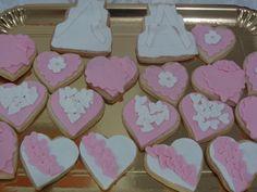 Wedding Cookies 2. Hearts!