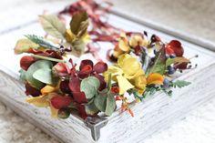 tie back floral crown,toddler crown,fairy,princess,maternity prop,autumn wreath