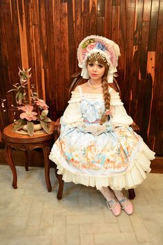 Model Beatriz Main Theme, Fashion Labels, Lolita Fashion, Ponytail, Pretty Girls, Harajuku, Fashion Show, Gallery, Model